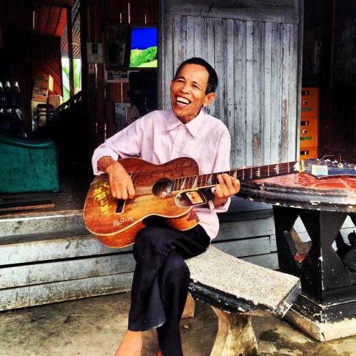 Singing Hairdresser in Luang Prabang